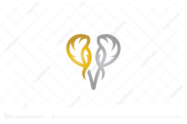 Logo for sale: Gold Silver Elephant Logo
