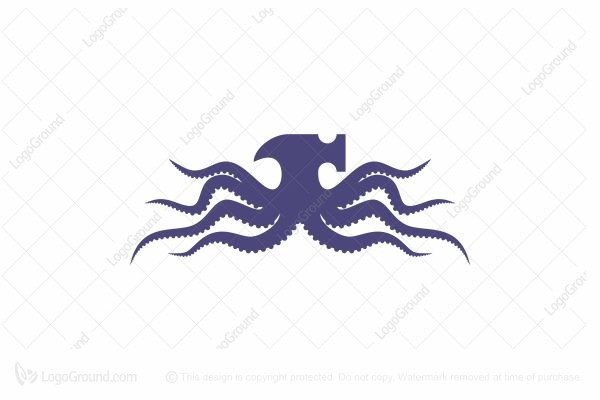 Logo for sale: Octopus Work Logo