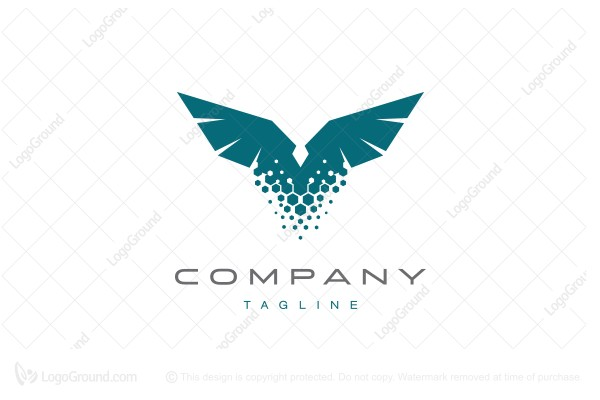 Logo for sale:  Eagle from dust