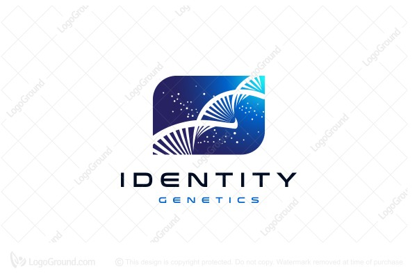 Logo for sale: Dna Chain Logo