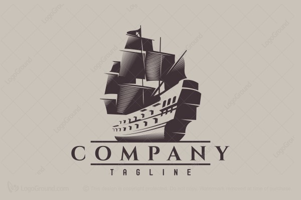 Logo for sale: Ship Logo