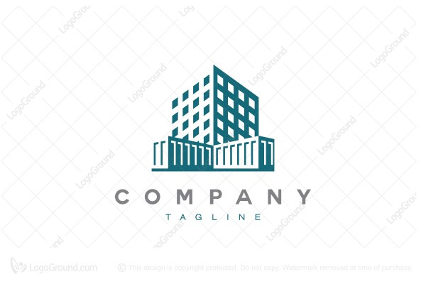 Logo for sale: Corporate Building Logo