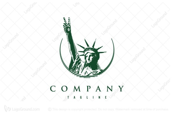 Logo for sale: Peace And Liberty Logo