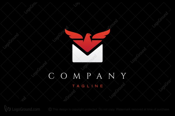 Logo for sale: Eagle Mail Logo