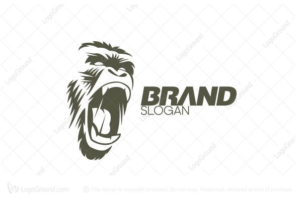 Logo for sale: Furious Gorilla Logo