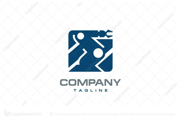 Logo for sale: Robotics Logo