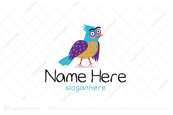 Logo for sale: Fun Bird Logo