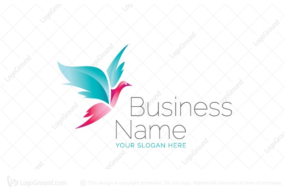 Logo for sale: Beauty Bird Logo