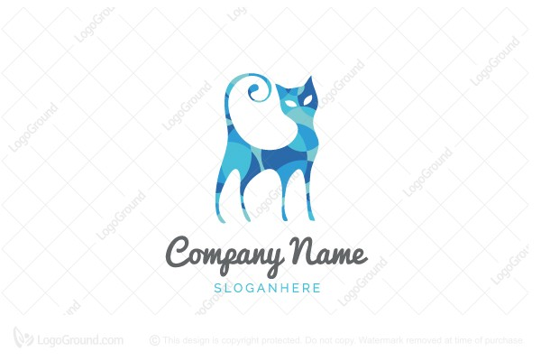 Logo for sale: Fun Cat Logo