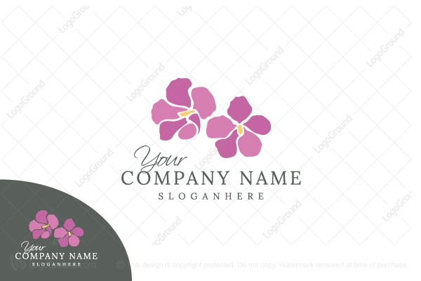 Logo for sale: Flower Mosaic Logo