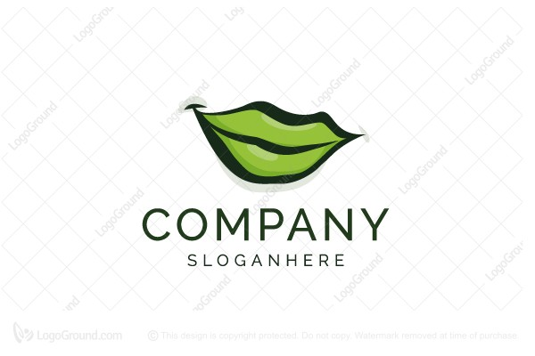 Logo for sale: Leaf Smile Logo
