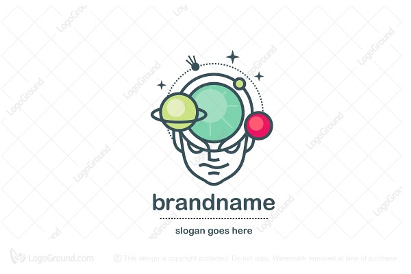 Logo for sale: Space Man Logo