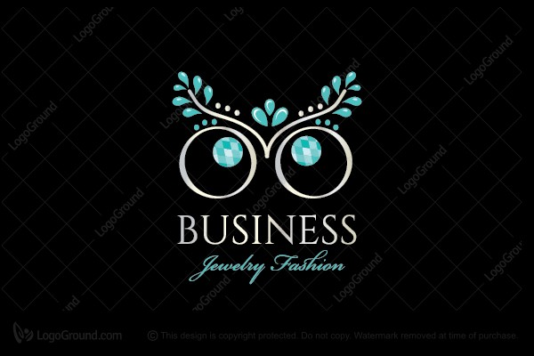 Logo for sale: Shiny Owl Jewelry Logo