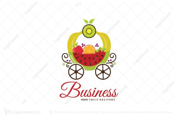 Exclusive Logo 155647, Royal Fruits Home Delivery Logo