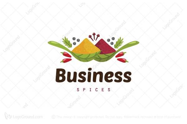 Logo for sale: Spices Logo