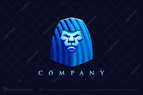 Logo for sale: Blue Lion Logo