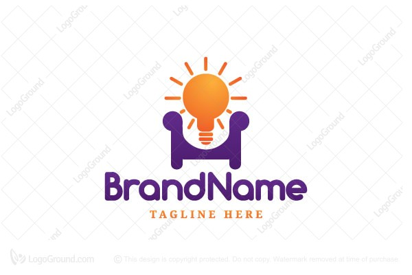 Exclusive Logo 166386 Idea Home Interior Design Logo