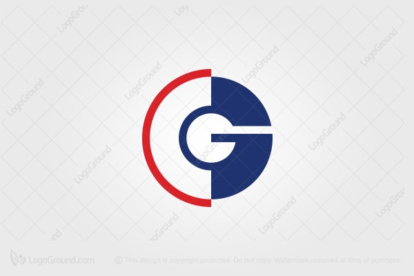 Logo for sale: Letters CG or GC Logo