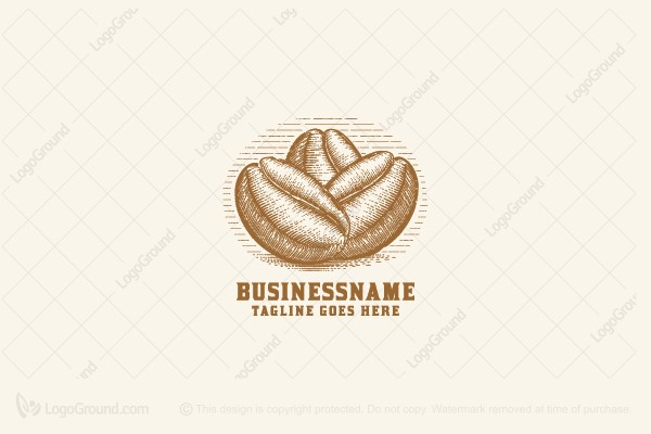 Logo for sale: Coffee Beans Logo