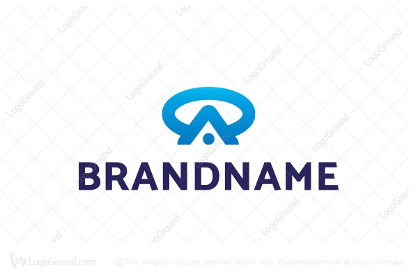 Logo for sale: Monogram Letter Oa Ao Logo