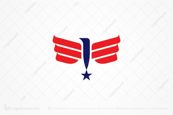 Logo for sale: American Eagle Star Logo