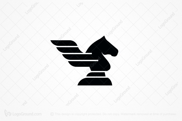 Logo for sale: Winged Knight Logo