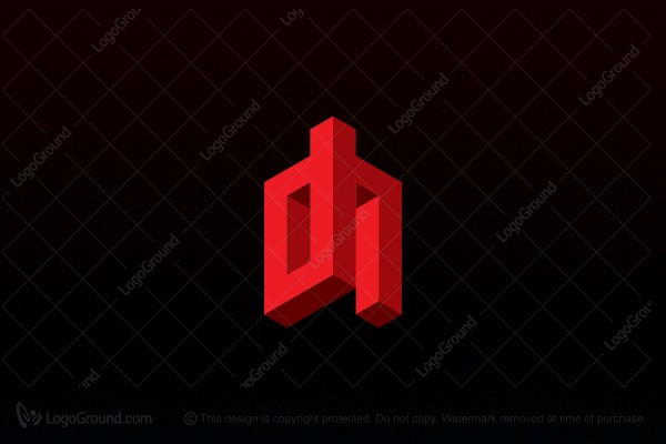 Logo for sale: Dh Logo