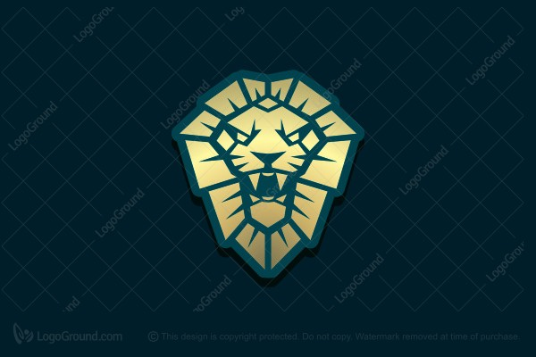 Logo for sale: Golden Lion Logo