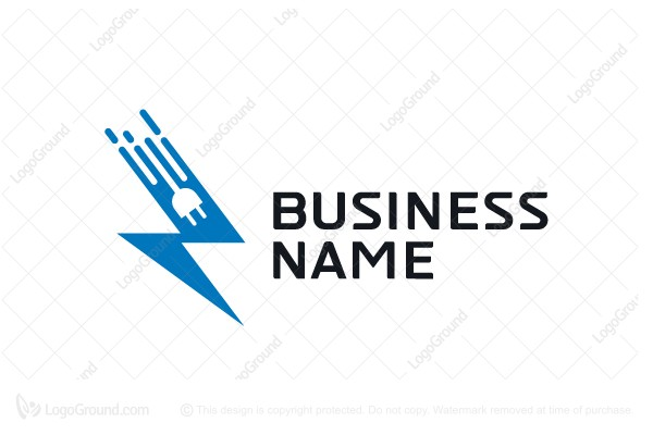 Exclusive Logo 165472, Lightning Logo