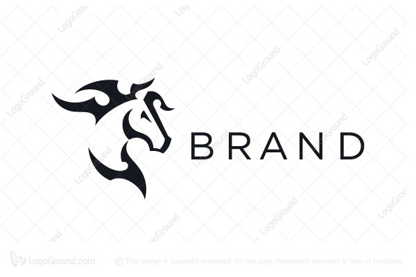 Logo for sale: Horse Logo Stylish Logo