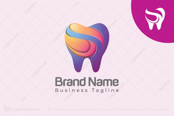 Logo for sale: Dental Love Logo
