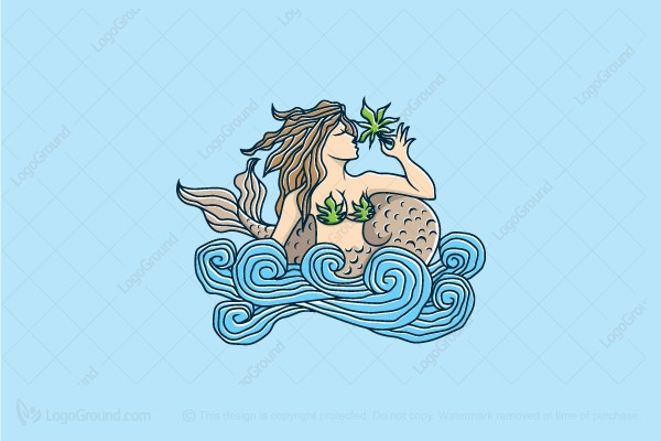 Logo for sale: Mermaid Valley Logo