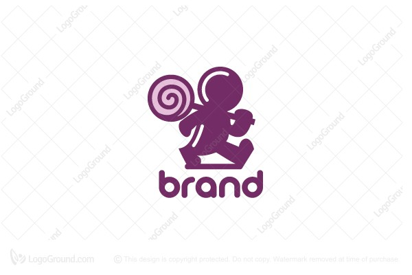Logo for sale: Candy Man Logo