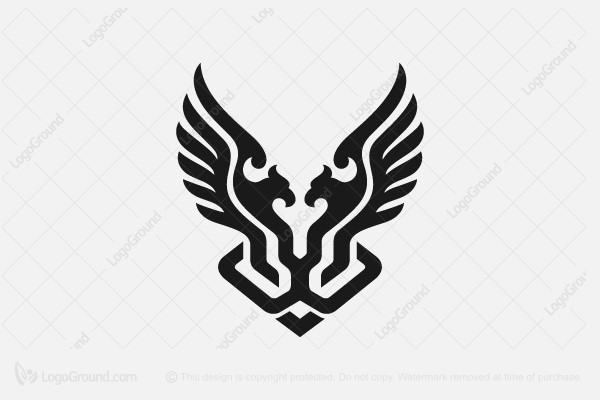 Logo for sale: Lion And Eagle Tech Logo
