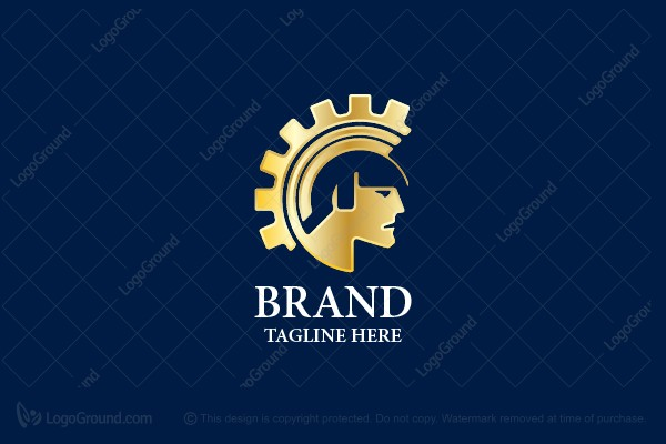 Logo for sale: Gladiator And Gear Logo