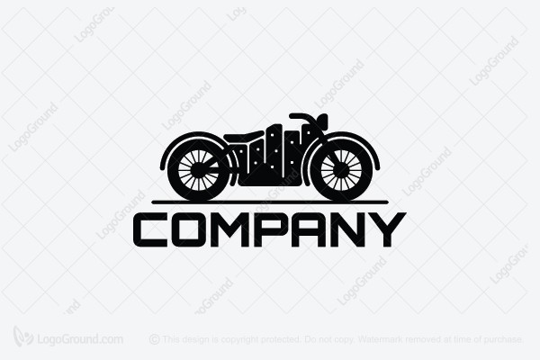 Logo for sale: City Bikers Logo