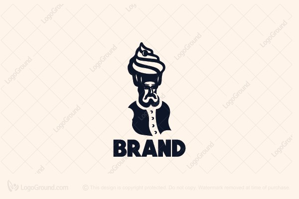 Logo for sale: Sultan Baker Logo
