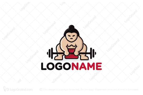 Logo for sale: Sumo Gym Logo