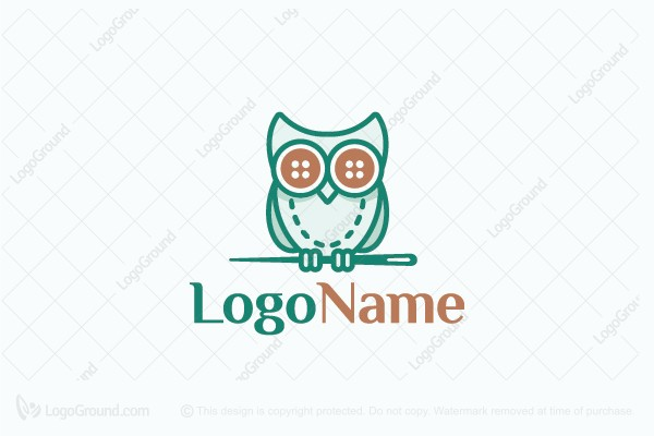 Logo for sale: Fashion Owl Logo