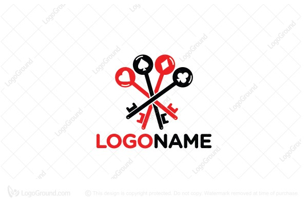 Logo for sale: Key Player Logo
