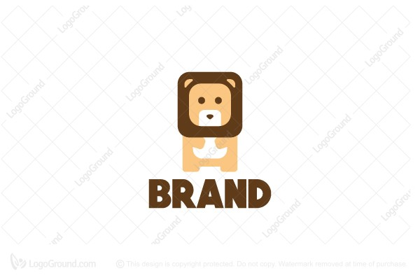 Logo for sale: Mini Lion Logo