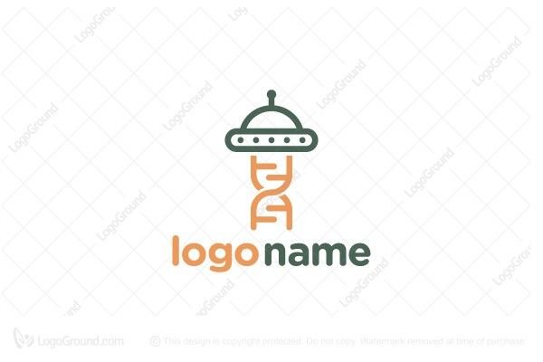 Logo for sale: Alien Dna Logo
