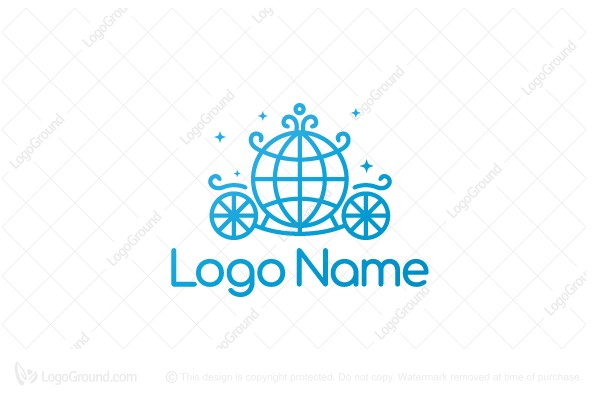 Logo for sale: Global Carriage Logo