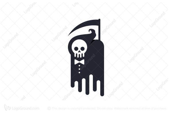 Logo for sale: Grim Reaper Logo