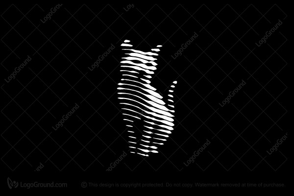 Logo for sale: Cat Lines Logo