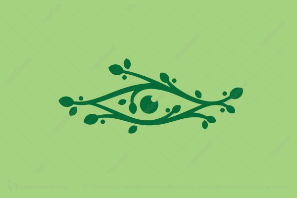 Logo for sale: Eye Leaf Logo