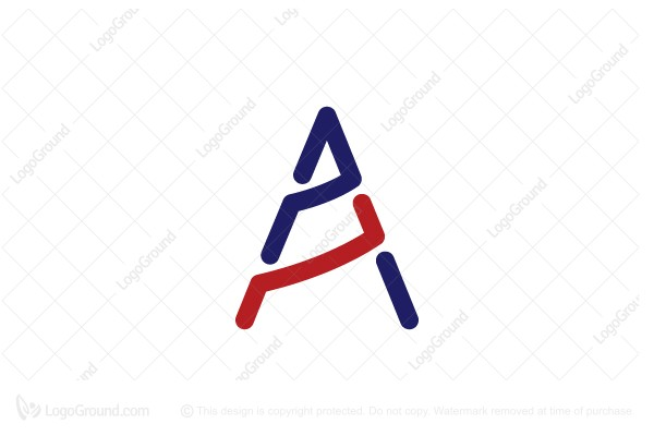 Logo for sale: Letter A Drill Logo