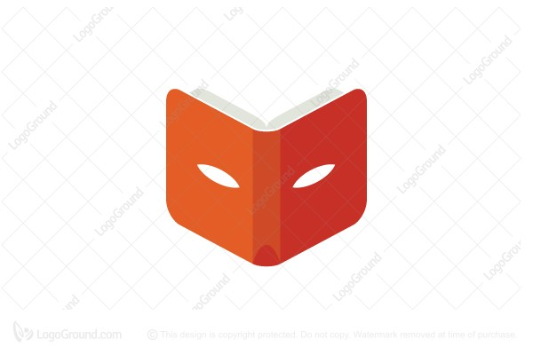 Logo for sale: Fox Book Logo