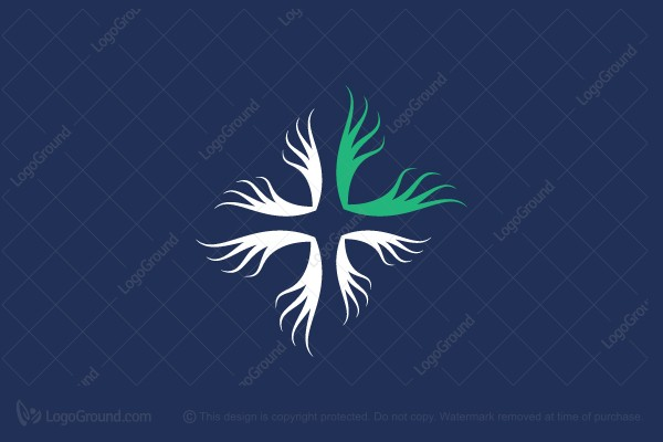 Logo for sale: Nerve Clinic Therapy Logo