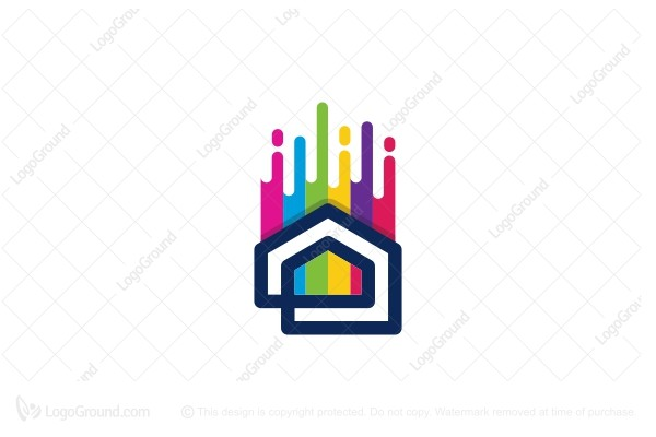 Logo for sale: Home Paint Logo